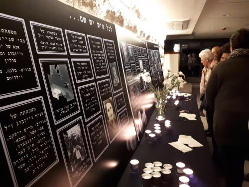 ערב יום השואה של קיבוץ סאסא 12.4.2018